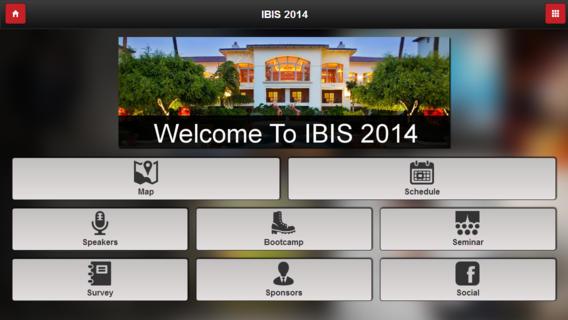 ibis 2014 app