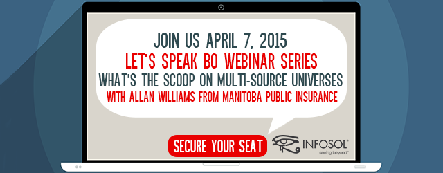 Let's Speak BO Webinar:  What's the Scoop on Multi-source Universes
