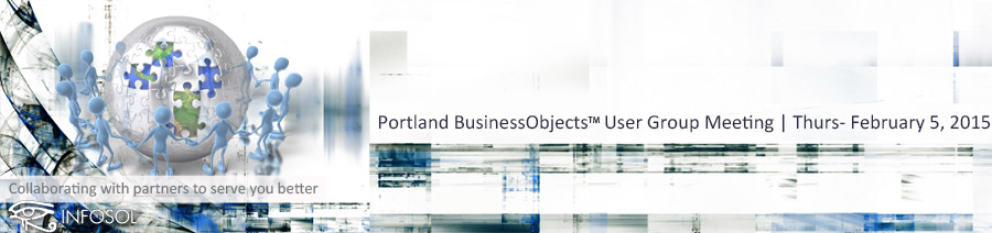 Portland BOUG Meeting, Feb. 5, 2015