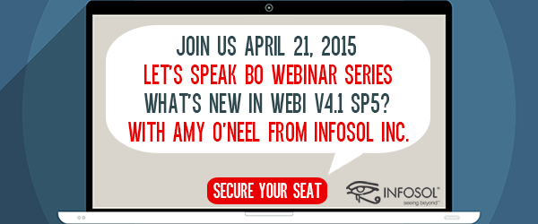 What's New in Webi V4.1?