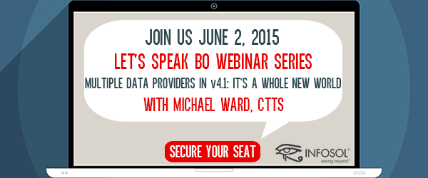 Let's Speak BO Webinar Series June 2nd