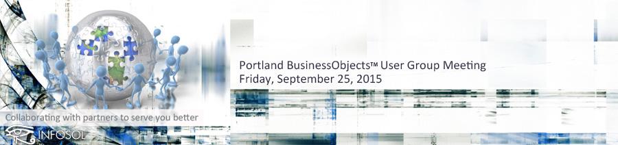 Portland BOUG September 25 2015 Banner Image