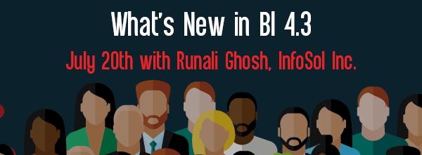 Let's Speak BO Webinar What's New in BI 4.3 July 20 2021