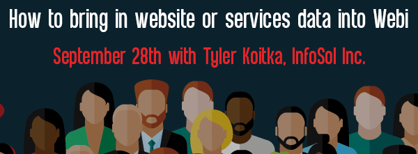 Let's Speak BO Webinar: How to bring in Web site or services data into Webi September 28, 2021